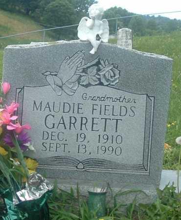GARRETT, MAUDIE FIELDS - Russell County, Virginia   MAUDIE FIELDS GARRETT - Virginia Gravestone Photos
