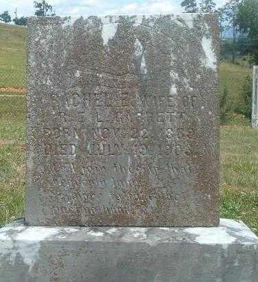 GARRETT, RACHEL ELIZABETH - Russell County, Virginia | RACHEL ELIZABETH GARRETT - Virginia Gravestone Photos