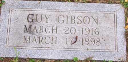 GIBSON, GUY - Russell County, Virginia | GUY GIBSON - Virginia Gravestone Photos