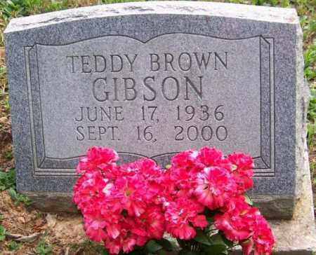 GIBSON, TEDDY BROWN - Russell County, Virginia | TEDDY BROWN GIBSON - Virginia Gravestone Photos