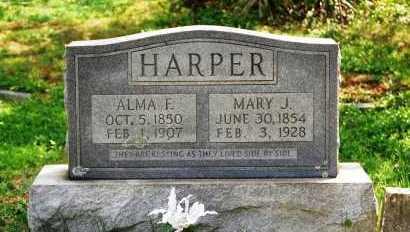 HARPER, MARY J - Russell County, Virginia | MARY J HARPER - Virginia Gravestone Photos
