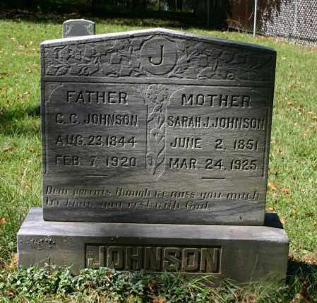 EVANS JOHNSON, SARAH J - Russell County, Virginia | SARAH J EVANS JOHNSON - Virginia Gravestone Photos