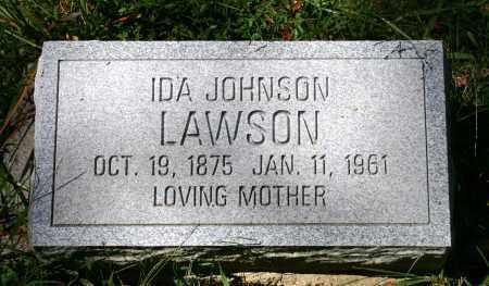 LAWSON, IDA - Russell County, Virginia | IDA LAWSON - Virginia Gravestone Photos