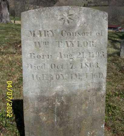 TAYLOR, MARY - Russell County, Virginia | MARY TAYLOR - Virginia Gravestone Photos