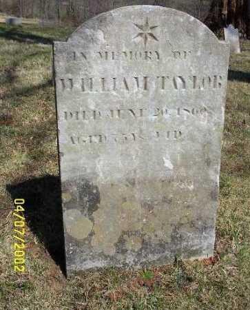 TAYLOR, WILLIAM - Russell County, Virginia | WILLIAM TAYLOR - Virginia Gravestone Photos