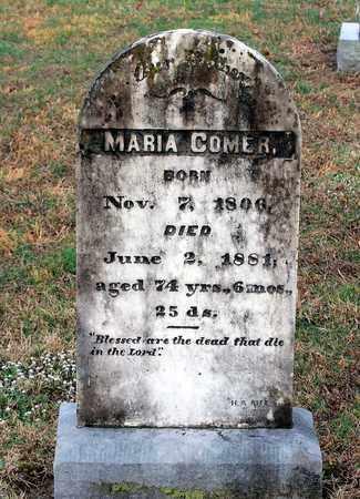 COMER, MARIA - Shenandoah County, Virginia   MARIA COMER - Virginia Gravestone Photos