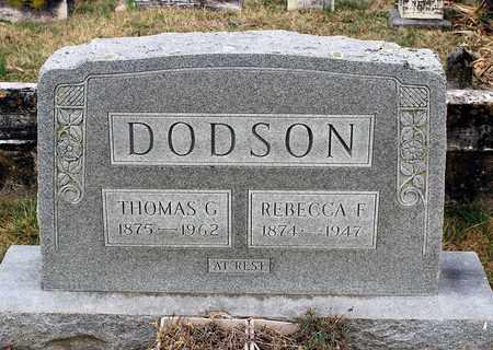 DODSON, REBECCA F. - Shenandoah County, Virginia | REBECCA F. DODSON - Virginia Gravestone Photos