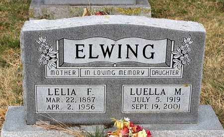 ELWING, LUELLA M. - Shenandoah County, Virginia | LUELLA M. ELWING - Virginia Gravestone Photos