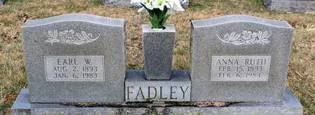 FADLEY, EARL W. - Shenandoah County, Virginia | EARL W. FADLEY - Virginia Gravestone Photos