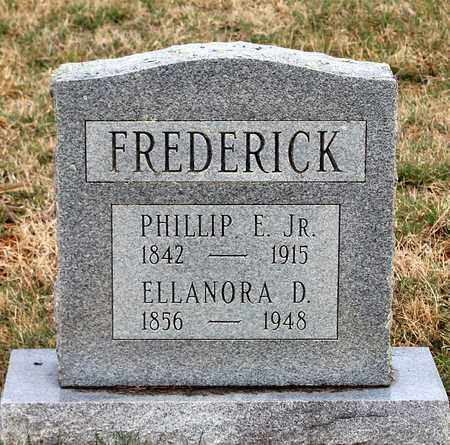 FREDERICK, PHILLIP E. JR. - Shenandoah County, Virginia | PHILLIP E. JR. FREDERICK - Virginia Gravestone Photos