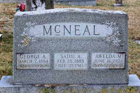 MCNEAL, GEORGE A. - Shenandoah County, Virginia | GEORGE A. MCNEAL - Virginia Gravestone Photos