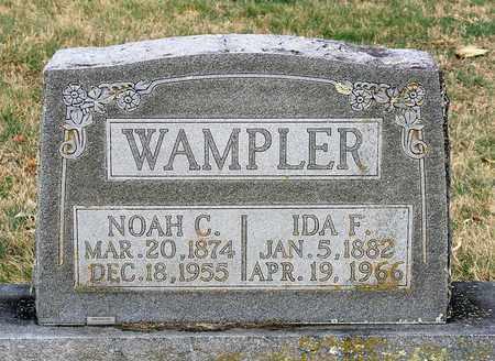 WAMPLER, NOAH C. - Shenandoah County, Virginia | NOAH C. WAMPLER - Virginia Gravestone Photos