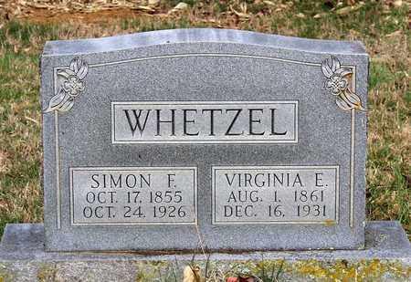 WHETZEL, VIRGINIA E. - Shenandoah County, Virginia | VIRGINIA E. WHETZEL - Virginia Gravestone Photos