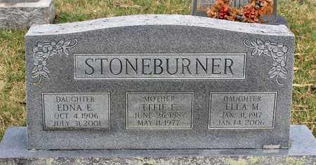 STONEBURNER, EFFIE E. - Shenandoah County, Virginia | EFFIE E. STONEBURNER - Virginia Gravestone Photos