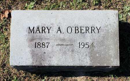 O'BERRY, MARY A. - Southampton County, Virginia | MARY A. O'BERRY - Virginia Gravestone Photos