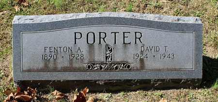 PORTER, FENTON A. - Southampton County, Virginia | FENTON A. PORTER - Virginia Gravestone Photos