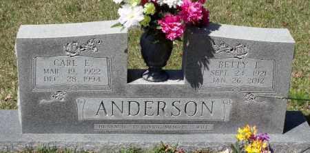 ANDERSON, CARL E. - Spotsylvania County, Virginia | CARL E. ANDERSON - Virginia Gravestone Photos