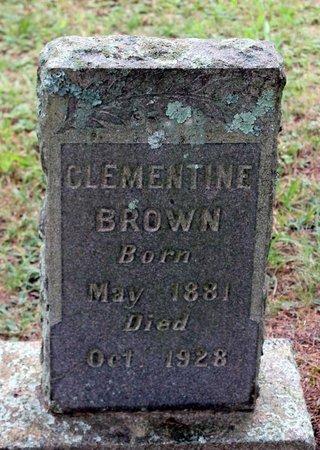 BROWN, CLEMENTINE - Spotsylvania County, Virginia | CLEMENTINE BROWN - Virginia Gravestone Photos