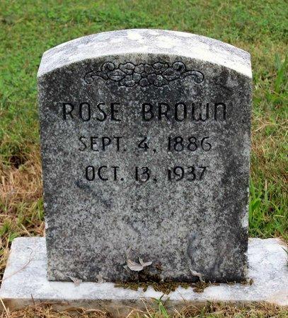 BROWN, ROSE - Spotsylvania County, Virginia   ROSE BROWN - Virginia Gravestone Photos