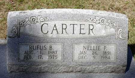 CARTER, NELLIE P. - Spotsylvania County, Virginia | NELLIE P. CARTER - Virginia Gravestone Photos