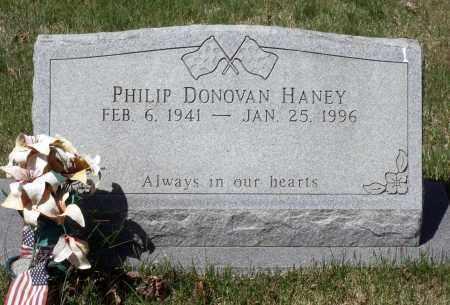 HANEY, PHILIP DONOVAN - Spotsylvania County, Virginia   PHILIP DONOVAN HANEY - Virginia Gravestone Photos