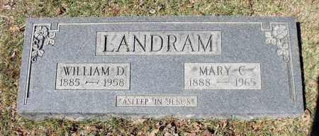 LANDRAM, MARY C. - Spotsylvania County, Virginia   MARY C. LANDRAM - Virginia Gravestone Photos