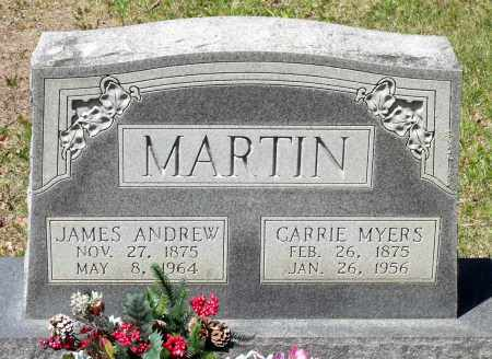 MARTIN, JAMES ANDREW - Spotsylvania County, Virginia | JAMES ANDREW MARTIN - Virginia Gravestone Photos