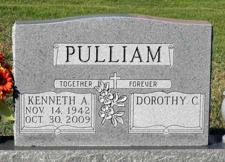 PULLIAM, KENNETH A. - Spotsylvania County, Virginia | KENNETH A. PULLIAM - Virginia Gravestone Photos