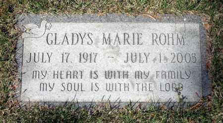 ROHM, GLADYS MARIE - Spotsylvania County, Virginia   GLADYS MARIE ROHM - Virginia Gravestone Photos