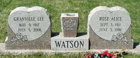 WATSON, ROSE ALICE - Spotsylvania County, Virginia | ROSE ALICE WATSON - Virginia Gravestone Photos