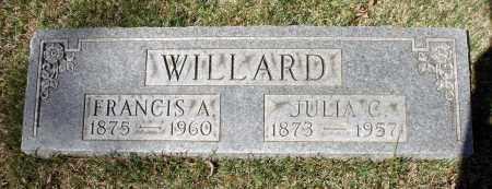 WILLARD, JULIA C. - Spotsylvania County, Virginia | JULIA C. WILLARD - Virginia Gravestone Photos