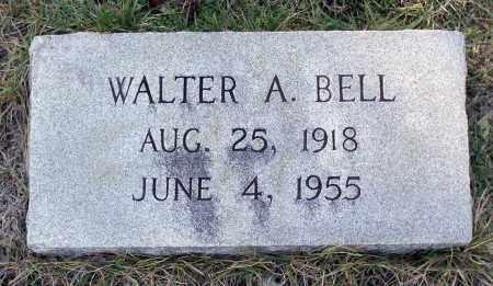 BELL, WALTER A. - Sussex County, Virginia | WALTER A. BELL - Virginia Gravestone Photos