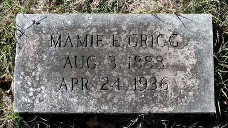 GRIGG, MAMIE E. - Sussex County, Virginia | MAMIE E. GRIGG - Virginia Gravestone Photos