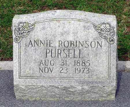 PURSELL, ANNIE - Sussex County, Virginia | ANNIE PURSELL - Virginia Gravestone Photos