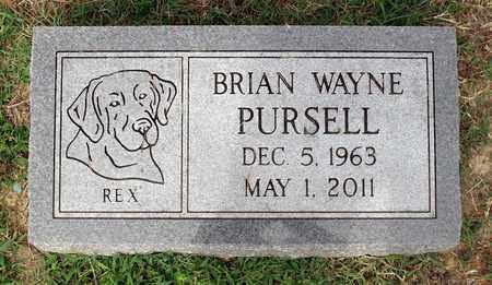 PURSELL, BRIAN WAYNE - Sussex County, Virginia | BRIAN WAYNE PURSELL - Virginia Gravestone Photos