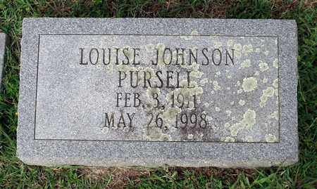PURSELL, LOUISE - Sussex County, Virginia | LOUISE PURSELL - Virginia Gravestone Photos