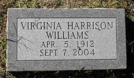 WILLIAMS, VIRGINIA - Sussex County, Virginia   VIRGINIA WILLIAMS - Virginia Gravestone Photos