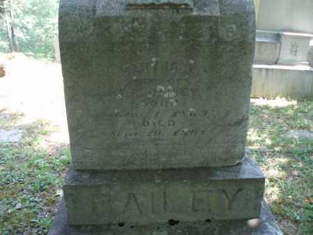 BAILEY, MARTHA - Tazewell County, Virginia   MARTHA BAILEY - Virginia Gravestone Photos