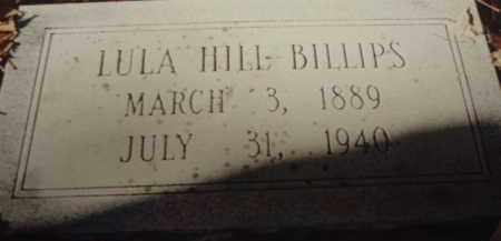HILL BILLIPS, LULA - Tazewell County, Virginia   LULA HILL BILLIPS - Virginia Gravestone Photos