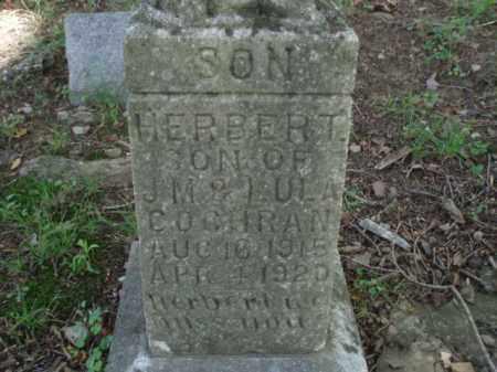 COCHRAN, HERBERT - Tazewell County, Virginia | HERBERT COCHRAN - Virginia Gravestone Photos