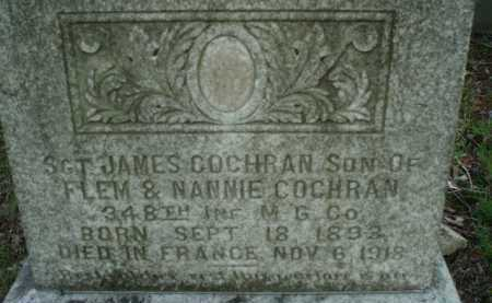 COCHRAN, JAMES - Tazewell County, Virginia | JAMES COCHRAN - Virginia Gravestone Photos