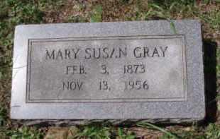 GRAY, MARY SUSAN - Tazewell County, Virginia   MARY SUSAN GRAY - Virginia Gravestone Photos