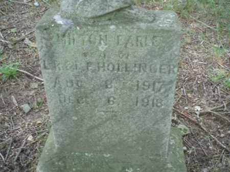HOLLINGER, MILTON EARLE - Tazewell County, Virginia | MILTON EARLE HOLLINGER - Virginia Gravestone Photos