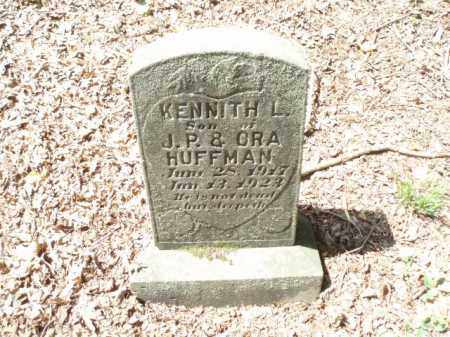 HUFFMAN, KENNITH L - Tazewell County, Virginia | KENNITH L HUFFMAN - Virginia Gravestone Photos