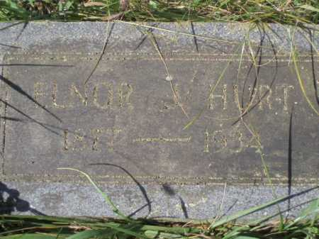 HURT, ELNOR - Tazewell County, Virginia | ELNOR HURT - Virginia Gravestone Photos