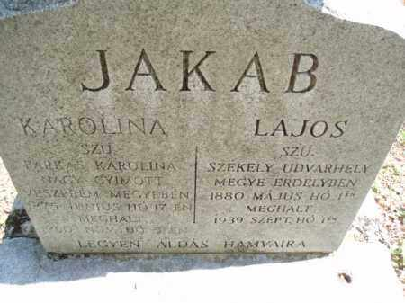 JAKAB, KAROLINA - Tazewell County, Virginia | KAROLINA JAKAB - Virginia Gravestone Photos