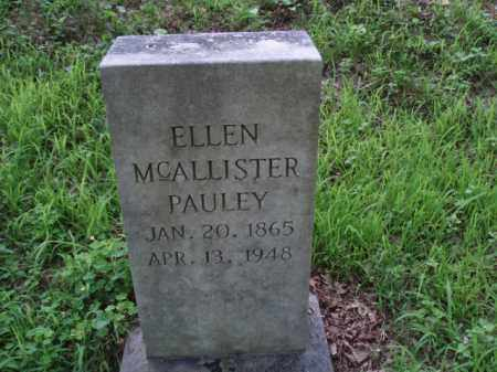 MCALLISTER PAULEY, ELLEN - Tazewell County, Virginia | ELLEN MCALLISTER PAULEY - Virginia Gravestone Photos