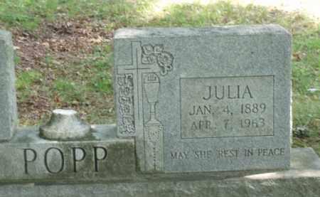 POPP, JULIA - Tazewell County, Virginia   JULIA POPP - Virginia Gravestone Photos