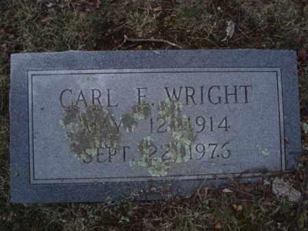 WRIGHT, CARL E - Tazewell County, Virginia | CARL E WRIGHT - Virginia Gravestone Photos
