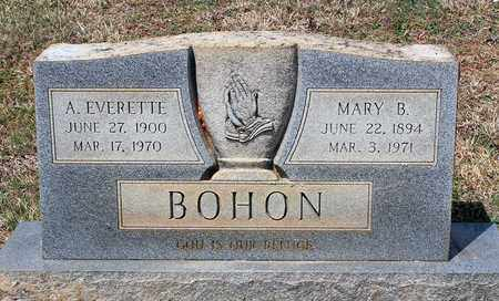 BOHON, AARON EVERETTE - Warren County, Virginia | AARON EVERETTE BOHON - Virginia Gravestone Photos